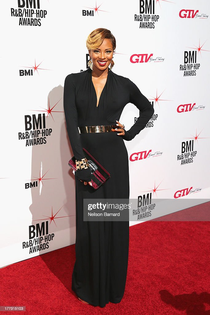 <a gi-track='captionPersonalityLinkClicked' href=/galleries/search?phrase=Eva+Marcille&family=editorial&specificpeople=208986 ng-click='$event.stopPropagation()'>Eva Marcille</a> attends the 2013 BMI R&B/Hip-Hop Awards at Hammerstein Ballroom on August 22, 2013 in New York City.