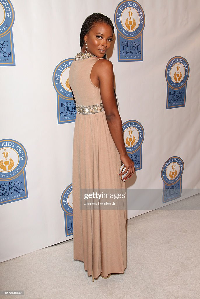 Eva Marcille attends the Let The Kids Grow 2012 Inaugral Holiday Gala held at the Beverly Wilshire Four Seasons Hotel on December 1, 2012 in Beverly Hills, California.
