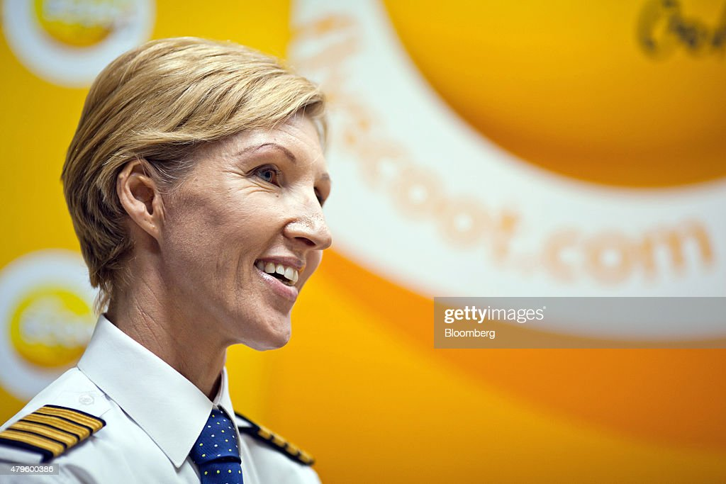 Eva <b>Maria Thien</b>, a pilot at Scoot Pte., a unit of Singapore Airlines Ltd. <b>...</b> - eva-maria-thien-a-pilot-at-scoot-pte-a-unit-of-singapore-airlines-ltd-picture-id479600386