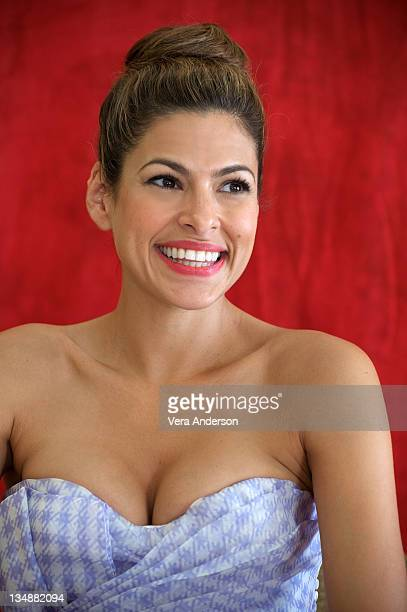 Eva Mendes at 'The Other Guys' press conference at The RitzCarlton on June 28 2010 in Cancun Mexico