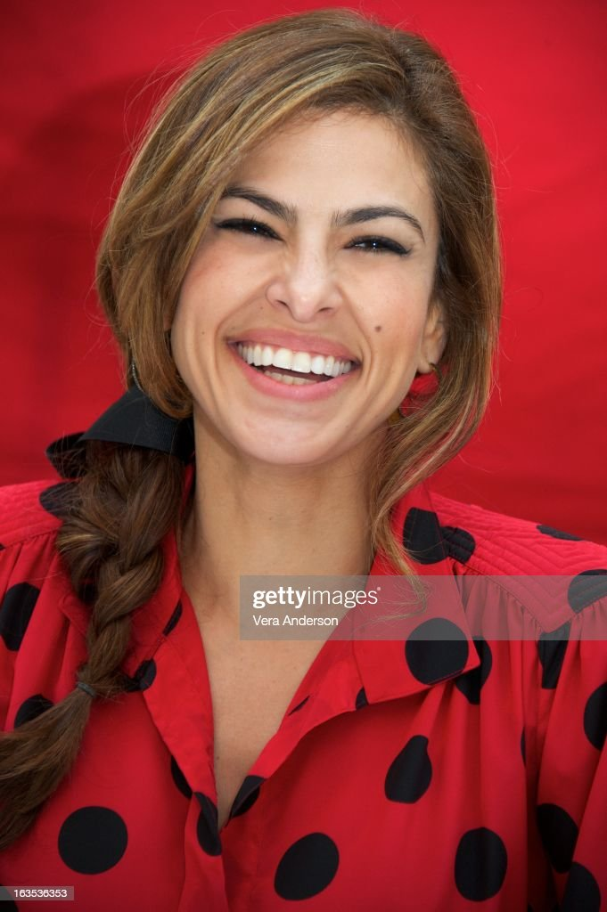 Eva Mendes at 'The Place Beyond The Pines' Press Conference at the Waldorf Astoria Hotel on March 10 2013 in New York City