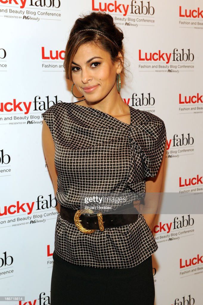 Eva Mendes attends Lucky Magazine's Two-Day East Coast