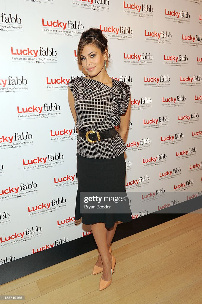 <a gi-track='captionPersonalityLinkClicked' href=/galleries/search?phrase=Eva+Mendes&family=editorial&specificpeople=194937 ng-click='$event.stopPropagation()'>Eva Mendes</a> attends Lucky Magazine's Two-Day East Coast