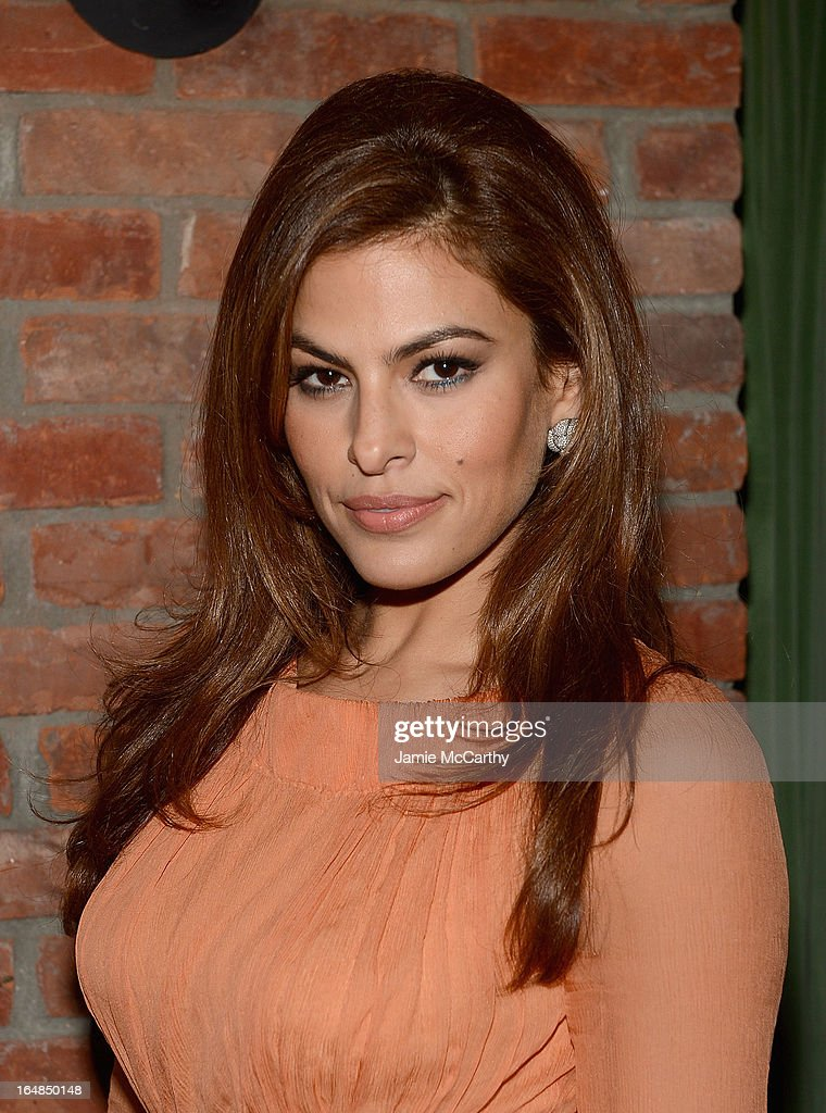Eva Mendes attends the after party for 'The Place Beyond The Pines' New York Premiere at The Bowery Hotel on March 28 2013 in New York City