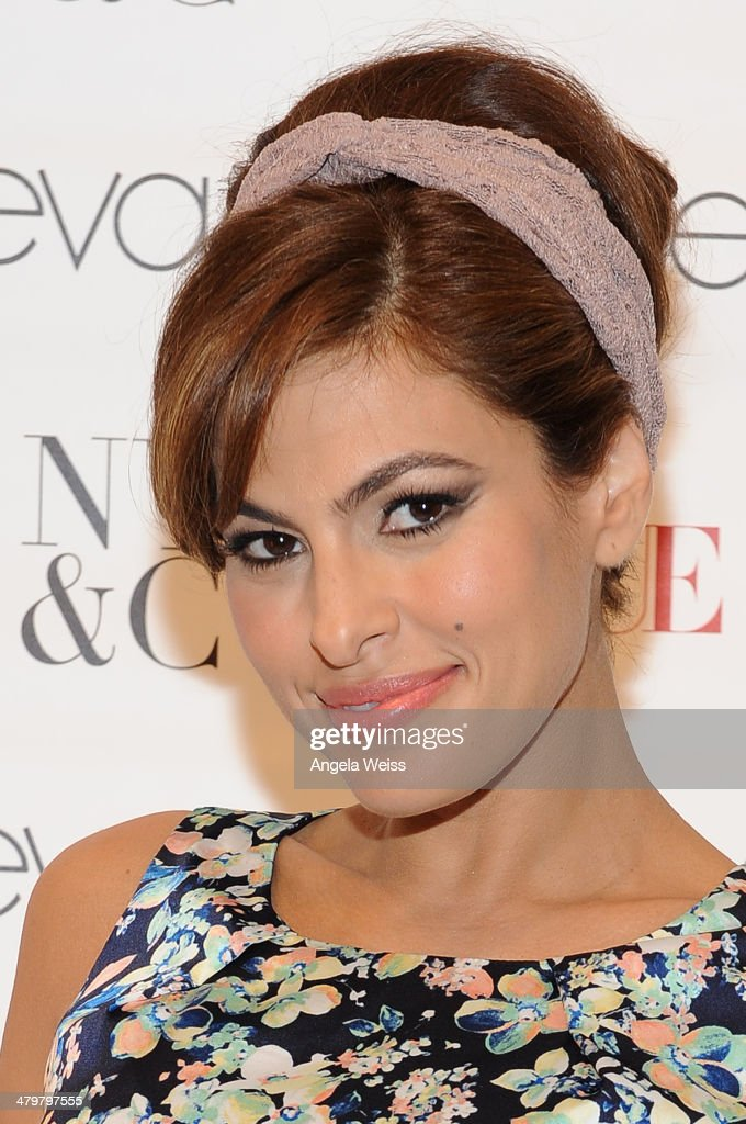 Eva Mendes attends the Eva Mendes For New York Company Spring Launch at the Los Cerritos Center on March 19 2014 in Cerritos California