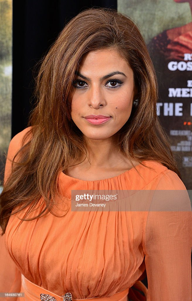 <a gi-track='captionPersonalityLinkClicked' href=/galleries/search?phrase=Eva+Mendes&family=editorial&specificpeople=194937 ng-click='$event.stopPropagation()'>Eva Mendes</a> attends 'The Place Beyond The Pines' New York Premiere at Landmark Sunshine Cinema on March 28, 2013 in New York City.