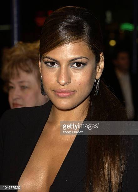 Eva Mendes during 'All About The Benjamins' Westwood Premiere at Mann Village Theatre in Westwood California United States