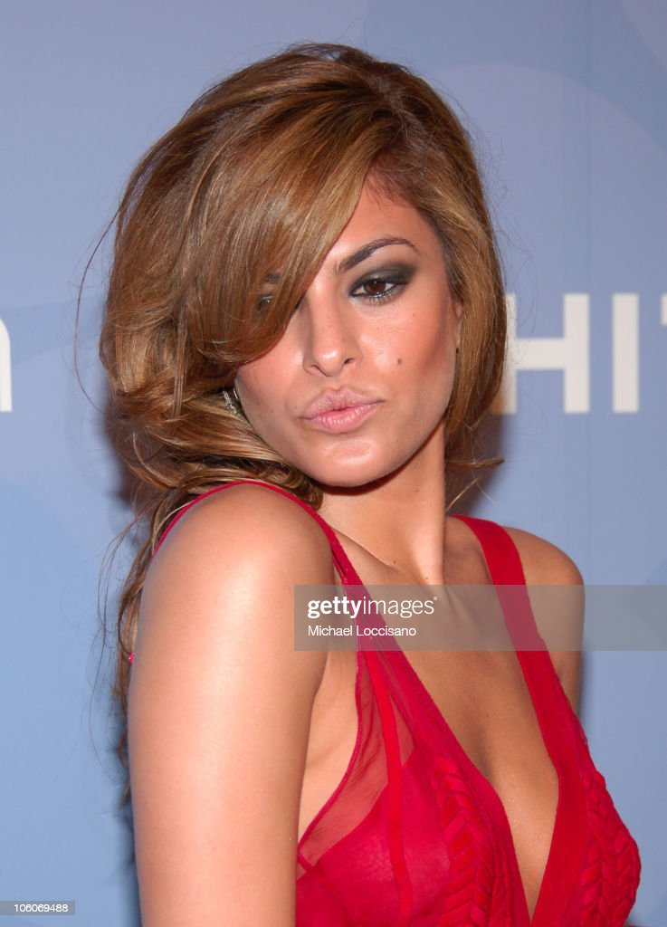 Eva Mendes during ART PARTY Hosted by The Whitney Contemporaries at Skylight Studis in New York City New York United States