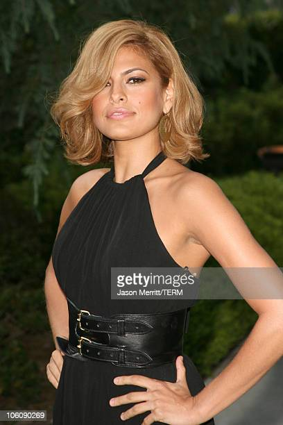 Eva Mendes during Chrysalis' 5th Annual Butterfly Ball at The Italian Villa Carla Fred Sands in Bel Air California United States