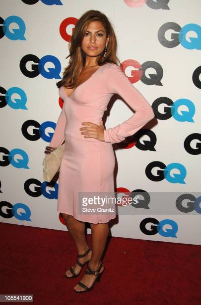 Eva Mendes during GQ Magazine Celebrates the 2005 Men of the Year Arrivals at Mr Chow in Beverly Hills California United States