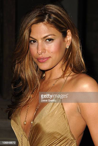 Eva Mendes during Gucci Spring 2006 Fashion Show to Benefit Children's Action Network and Westside Children's Center Arrivals at Home of Eva and...