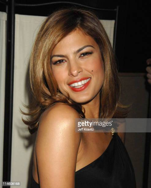 Eva Mendes during Spike TV's 2006 Video Game Awards Hosted By Samuel L Jackson Backstage and Audience at The Galen Center in Los Angeles California...