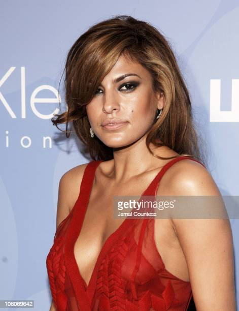 Eva Mendes during The Whitney Contemporaries Host ART PARTY 2006 at Skylight Studios in New York City New York United States