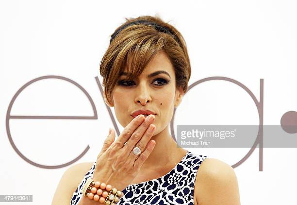 Eva Mendes for New York And Company Spring 2014 Collection pop up store launch party held at The Beverly Center on March 18 2014 in Los Angeles...