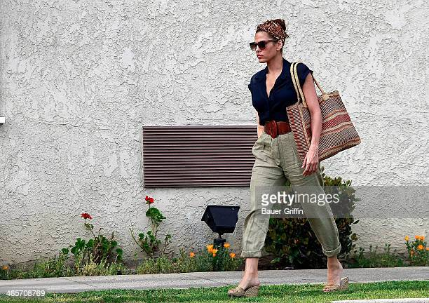 Eva Mendes is seen on March 08 2013 in Los Angeles California