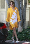 Eva Mendes is seen on Melrose Ave on June 20 2011 in Los Angeles California