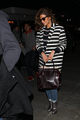 Eva Mendes seen at LAX on February 20 2015 in Los Angeles California