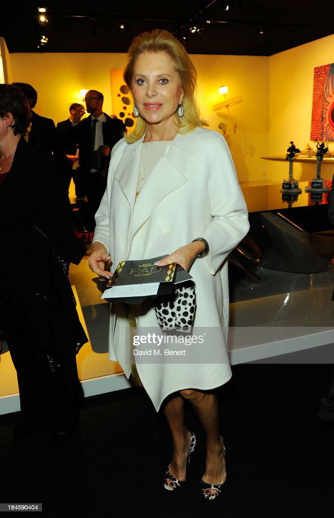 Eva O'Neill attends the Moet Hennessy London Prize Jury Visit during the PAD London Art + Design Fair at Berkeley Square Gardens on October 14, 2013 in London, England.