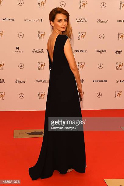 Eva Padberg arrives at the Bambi Awards 2014 on November 13 2014 in Berlin Germany