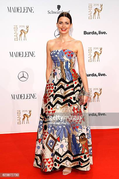 Eva Padberg arrives at the Bambi Awards 2016 at Stage Theater on November 17 2016 in Berlin Germany