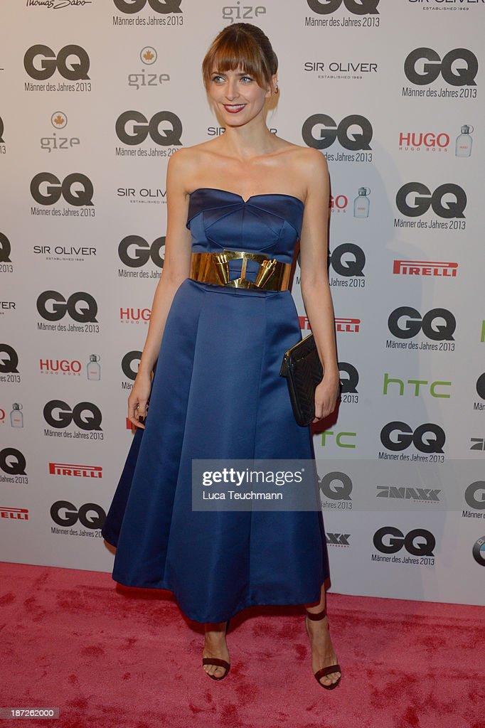 Eva Padberg arrives at the GQ Men of the Year Award at Komische Oper on November 7, 2013 in Berlin, Germany.