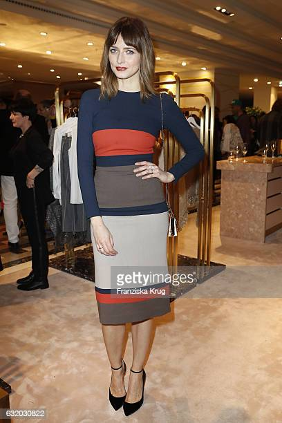 Eva Padberg attends the celebration of 'Der Berliner Mode Salon' by KaDeWe Vogue at KaDeWe on January 18 2017 in Berlin Germany