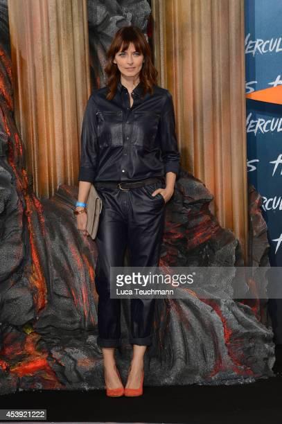 Eva Padberg attends the European premiere of the film 'Hercules' at CineStar on August 21 2014 in Berlin Germany