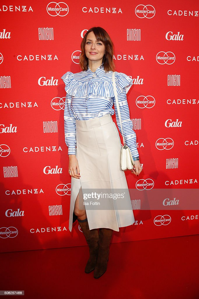 Eva Padberg attends the 'Gala' fashion brunch during the Mercedes-Benz Fashion Week Berlin Autumn/Winter 2016 at Ellington Hotel on January 22, 2016 in Berlin, Germany.