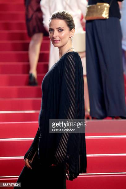 Eva Padberg attends the 'In The Fade ' screening during the 70th annual Cannes Film Festival at Palais des Festivals on May 26 2017 in Cannes France