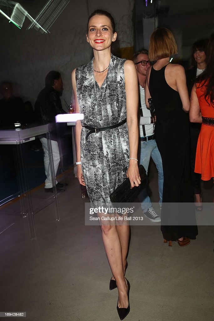 <a gi-track='captionPersonalityLinkClicked' href=/galleries/search?phrase=Eva+Padberg&family=editorial&specificpeople=206867 ng-click='$event.stopPropagation()'>Eva Padberg</a> attends the 'Life Ball 2013 - Welcome Cocktail' at Le Meridien Hotel on May 24, 2013 in Vienna, Austria.