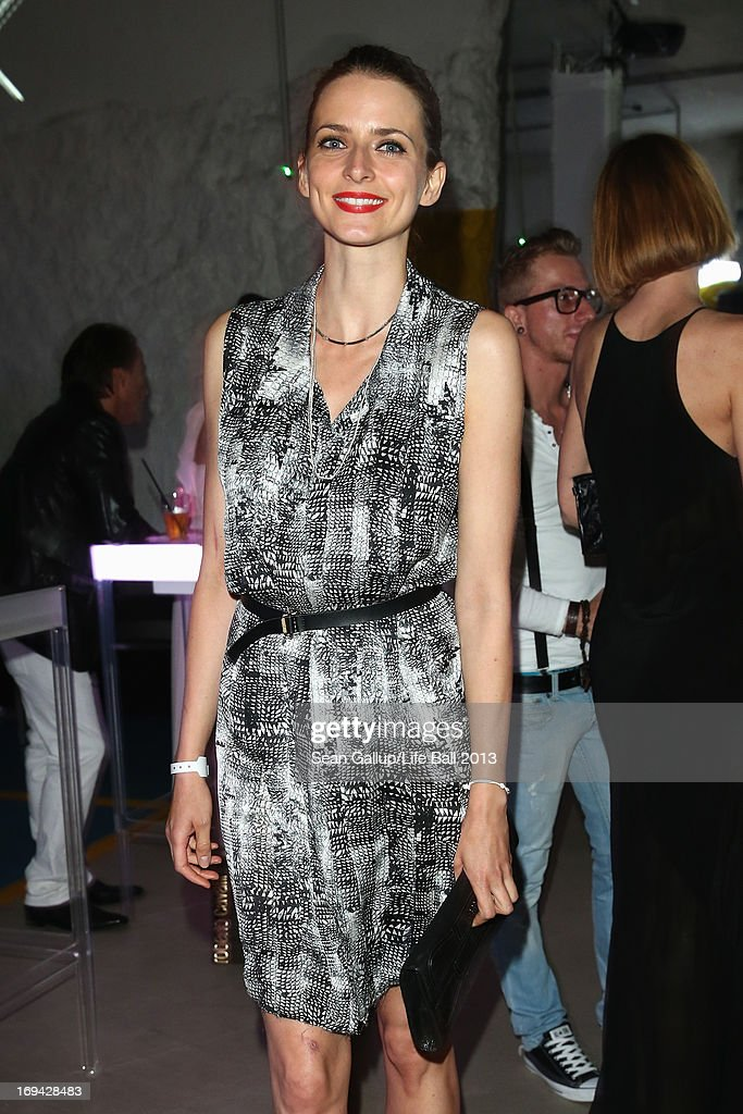 Eva Padberg attends the 'Life Ball 2013 - Welcome Cocktail' at Le Meridien Hotel on May 24, 2013 in Vienna, Austria.