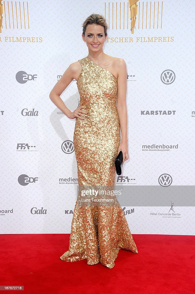 Eva Padberg attends the Lola German Film Award 2013 at Friedrichstadtpalast on April 26, 2013 in Berlin, Germany.