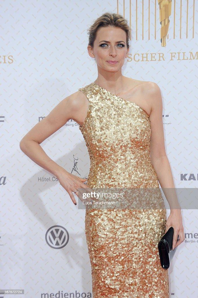 Eva Padberg attends the Lola German Film Award 2013 at Friedrichstadtpalast on April 26, 2013 in Berlin, Germany.