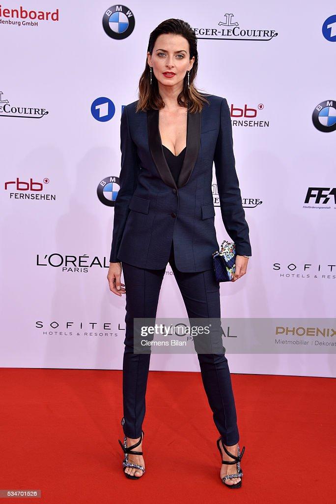 Eva Padberg attends the Lola - German Film Award (Deutscher Filmpreis) on May 27, 2016 in Berlin, Germany.
