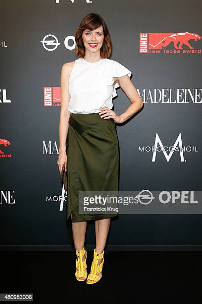 Eva Padberg attends the MADELEINE At New Faces Award Fashion 2015 on July 16 2015 in Munich Germany