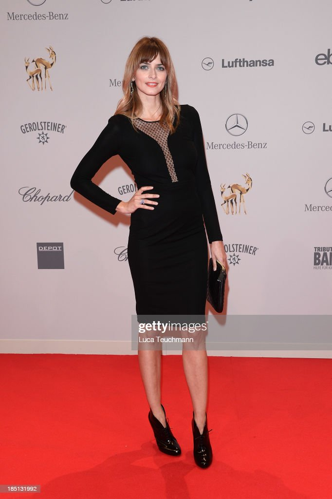 Eva Padberg attends the Tribute To Bambi at Station on October 17, 2013 in Berlin, Germany.