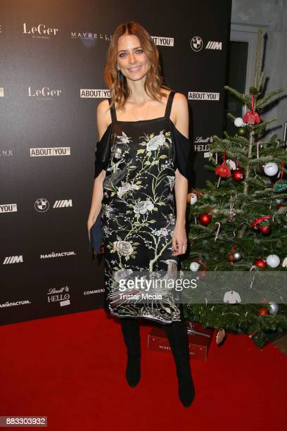 Eva Padberg during Lena Gerckes Christmas Dinner Partyat Hygge on November 30 2017 in Hamburg Germany