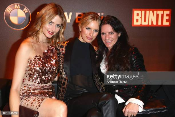 Eva Padberg Karolina Kurkova and Christine Neubauer attend the Festival Night by Bunte and BMW at Humboldt Carre on February 8 2013 in Berlin Germany
