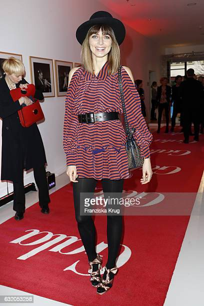 Eva Padbreg attends the 'Gala' fashion brunch during the MercedesBenz Fashion Week Berlin A/W 2017 at Ellington Hotel on January 19 2017 in Berlin...
