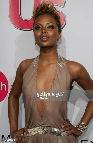 Eva Pigford during 'America's Next Top Model' Season Three Finale Party at Ivar in Hollywood California United States