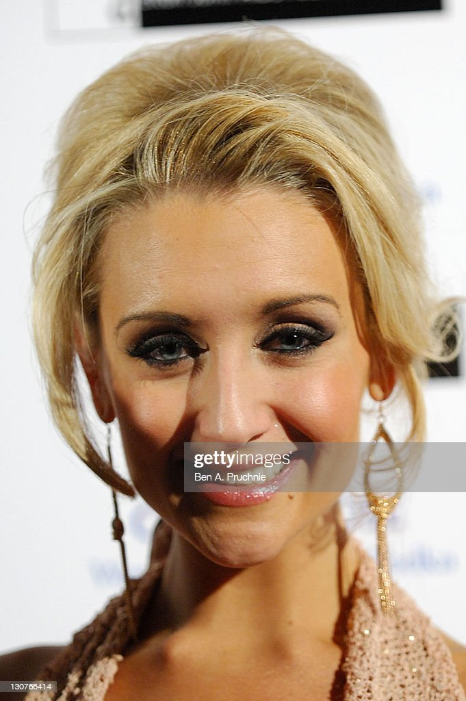 Eva Price attends the Grey Goose Winter Ball at Battersea Park on October 29, 2011 in London, England.