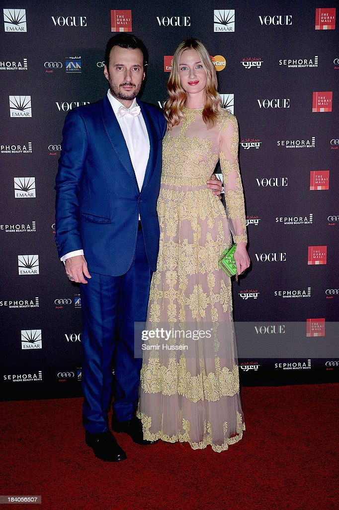 <a gi-track='captionPersonalityLinkClicked' href=/galleries/search?phrase=Eva+Riccobono&family=editorial&specificpeople=885062 ng-click='$event.stopPropagation()'>Eva Riccobono</a> attends the gala dinner at the Armani Pavilion during Vogue Fashion Dubai Experience on October 10, 2013 in Dubai, United Arab Emirates.
