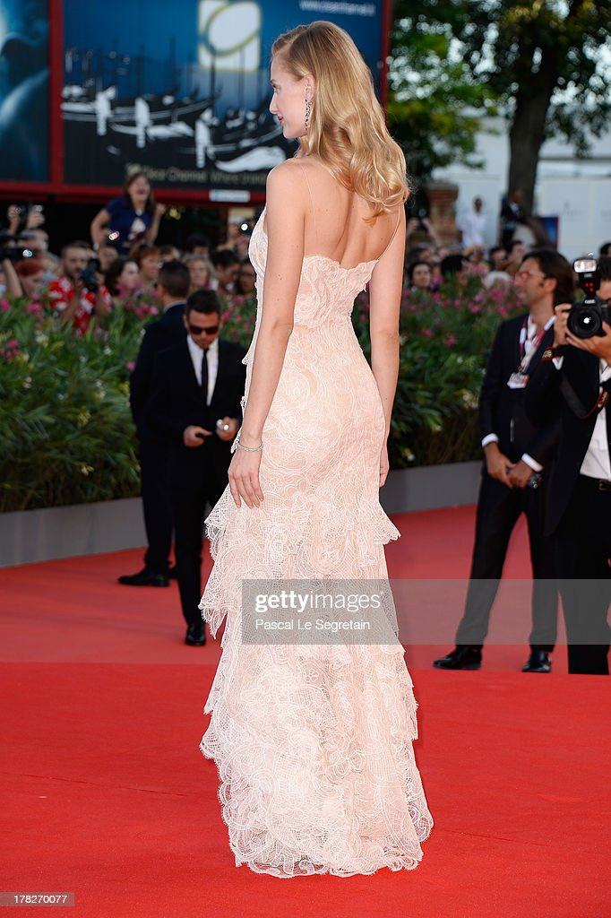 Eva Riccobono attends the Opening Ceremony And 'Gravity' Premiere during the 70th Venice International Film Festival at the Palazzo del Cinema on August 28, 2013 in Venice, Italy.