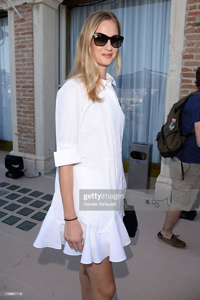 <a gi-track='captionPersonalityLinkClicked' href=/galleries/search?phrase=Eva+Riccobono&family=editorial&specificpeople=885062 ng-click='$event.stopPropagation()'>Eva Riccobono</a> is seen during the 70th Venice International Film Festival on August 30, 2013 in Venice, Italy.