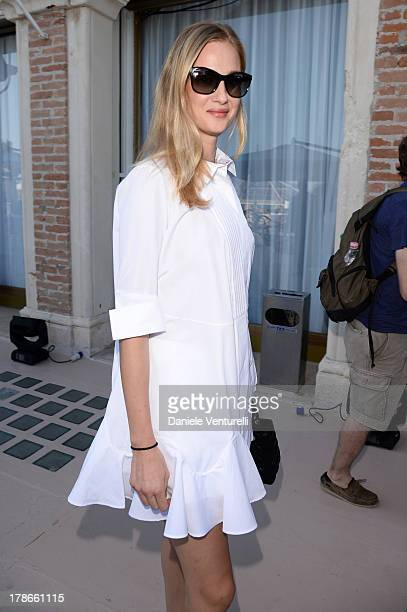 Eva Riccobono is seen during the 70th Venice International Film Festival on August 30 2013 in Venice Italy