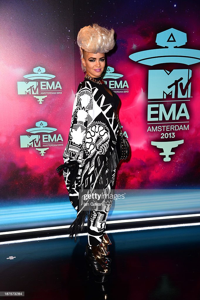 Eva Simons attends the MTV EMA's 2013 at the Ziggo Dome on November 10, 2013 in Amsterdam, Netherlands.