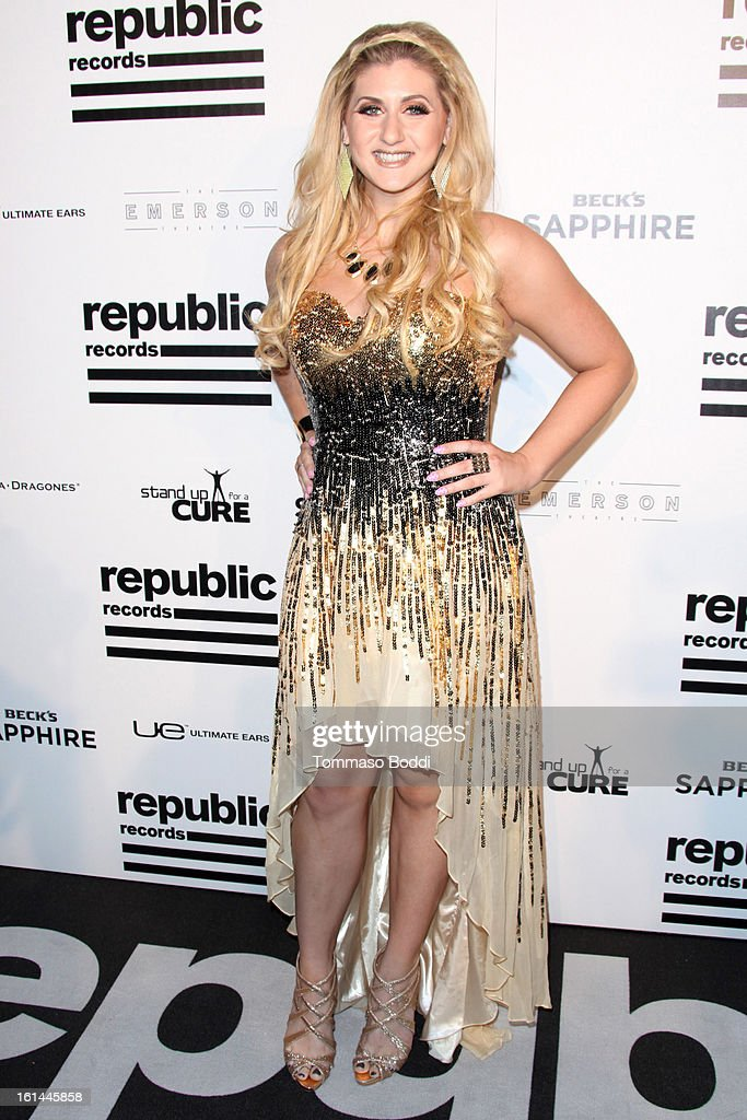 Eva Universe attends the Republic Records post GRAMMY party held at The Emerson Theatre on February 10, 2013 in Hollywood, California.