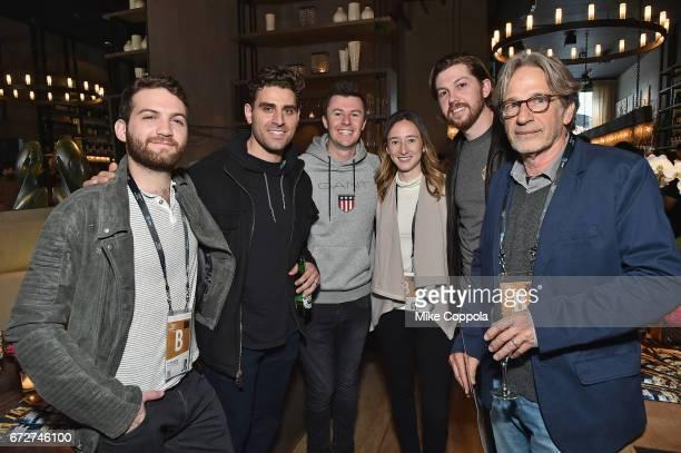 Evan Ari Kelman Robert Cervini Jarrod Theodore Parker Hill Terrance McFadden Jr and Assaf Amirattend the Producers Reception 2017 Tribeca Film...