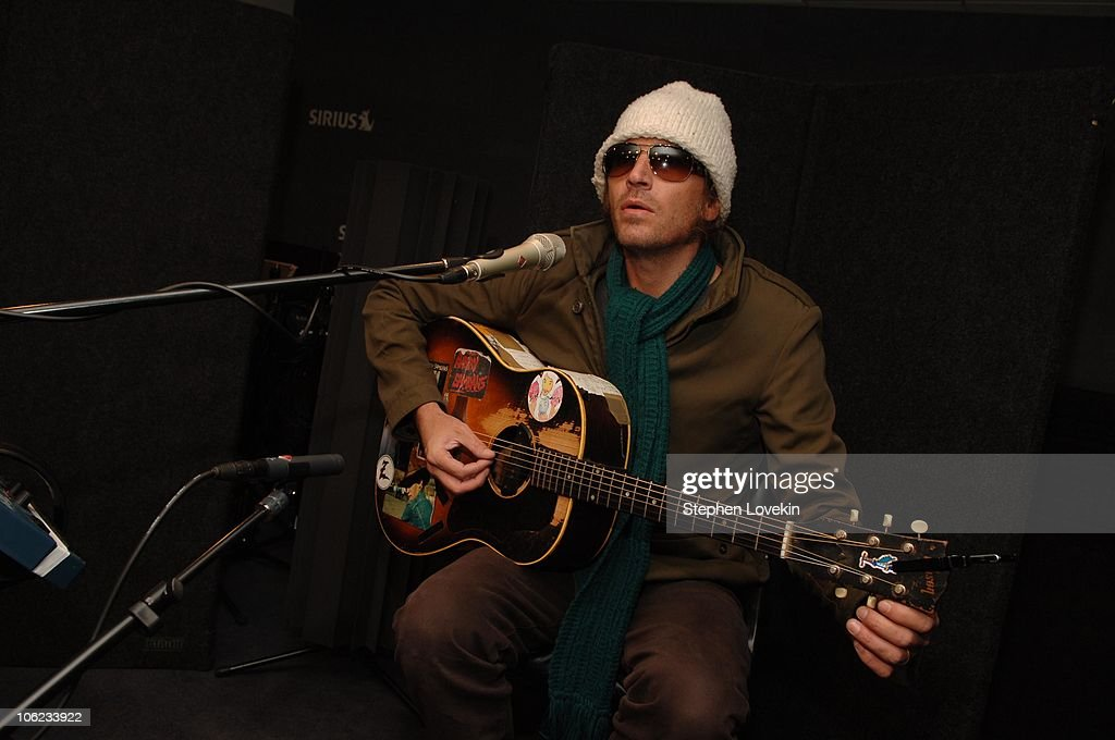 Evan Dando of The Lemonheads during Evan Dando of The Lemonheads Visits Sirius Satellite Radio - January 23rd, 2007 at Sirius Satellite Studios in New York City, New York, United States.