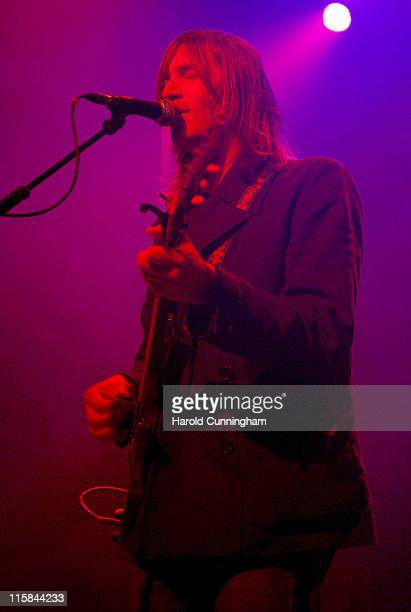Evan Dando of the Lemonheads during Lemonheads in Concert at the Forum in London October 6 2006 at Forum in London Great Britain
